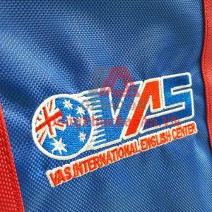 Mẫu Balo Đồng Phục Trung Tâm Anh Ngữ Việt Úc VAS – Xưởng May Balo Đồng Phục Cao Cấp TPHCM