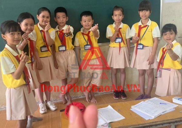 Mẫu Đồng Phục Học Sinh Trường Tiểu Học Phú Hữu 3 Theo Yêu Cầu TPHCM