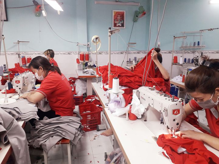 Xưởng May Gia Công Tại TPHCM – Bình Dương – Đồng Nai Khu Vực