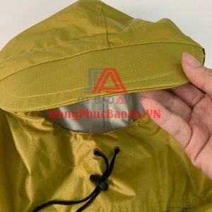 Đặt áo mưa in logo công ty theo yêu cầu giá tốt chất lượng tại TPHCM – Áo mưa cánh dơi quà tặng cao cấp PARIS PHARM
