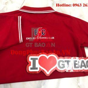 May áo thun đồng phục giá rẻ Hải Châu, Đà Nẵng – Mẫu áo đồng phục cho CLB ENGLISH SPEAKING CLUB