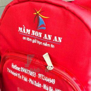 May balo đồng phục Trường Mầm non An An giá rẻ TPHCM Quận Bình Tân