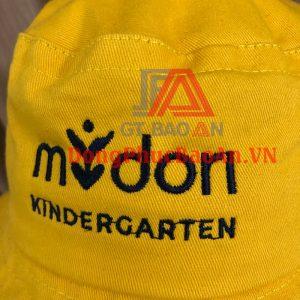 Nón tai bèo trẻ em Trường Mầm non Quốc tế Midori Kindergarten – Xưởng may đồng phục giá rẻ Đồng Nai, Bình Dương