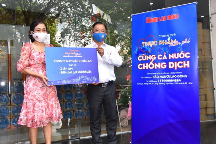 GT Bảo An đồng hành cùng chương trình của Báo Người Lao Động