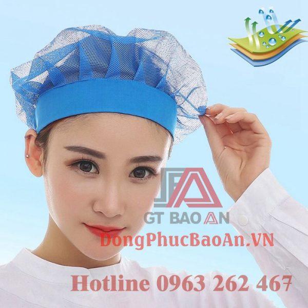 Nón lưới công nhân, nón lưới trùm tóc cho công nhân vệ sinh nhiều màu TPHCM – Bình Dương – Đồng Nai