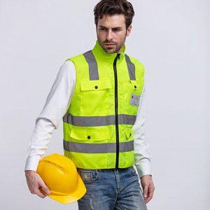 Các loại áo bảo hộ phản quang thường dùng