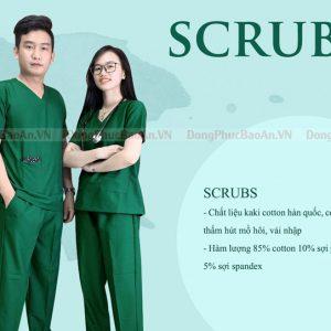 Xưởng may bộ Scrubs bác sĩ, đồng phục phòng khám- bệnh viện cao cấp tại TPHCM