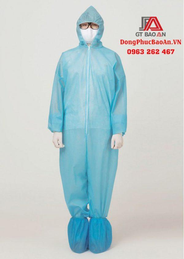Bộ quần áo bảo hộ y tế dùng 1 lần – Quần áo bảo hộ y tế phòng dịch mua ở đâu TPHCM?