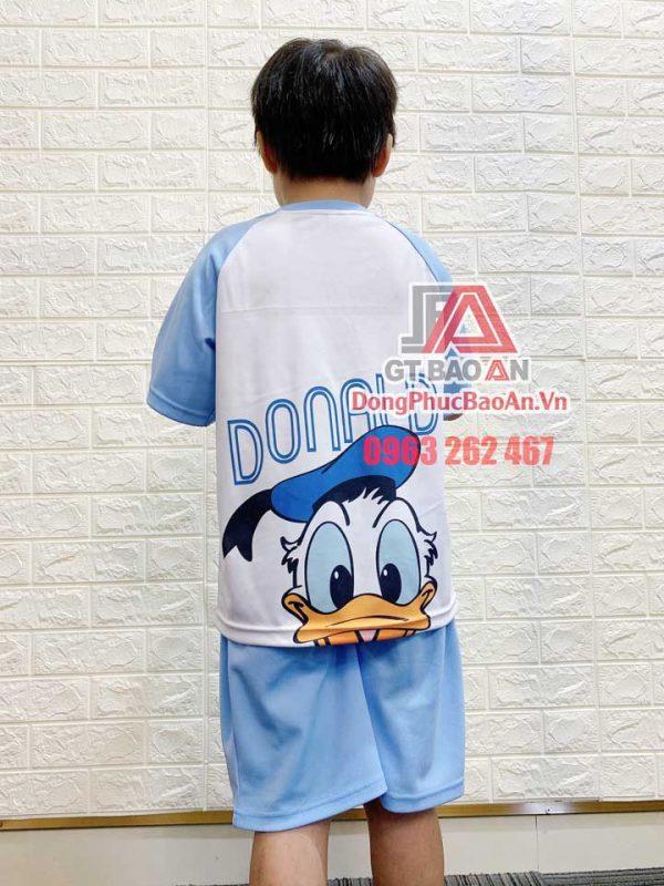 [Có Sẵn] Đồ bộ mặc nhà cho bé gái, bé trai từ 4 đến 10 tuổi - Bộ quần áo cộc tay mặc nhà cho bé thun Cá Sấu Bamboo