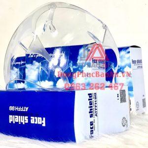 [Face shield] Kính chống giọt bắn cao cấp, kính bảo hộ chống dịch đa năng TPHCM