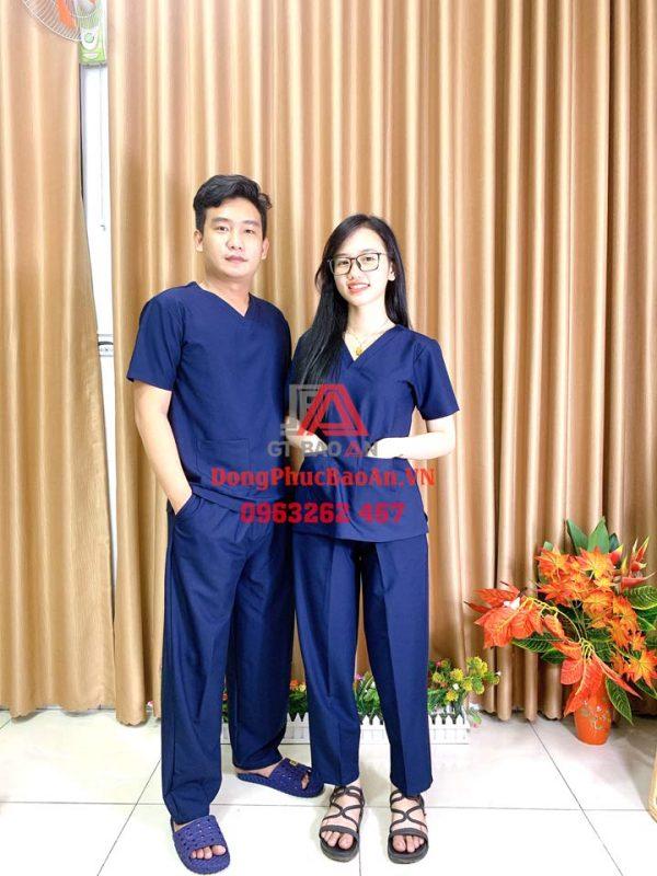 Kaki Cotton Hàn Quốc – Chất liệu vải may bộ đồng phục Blouse cao cấp chuyên dụng