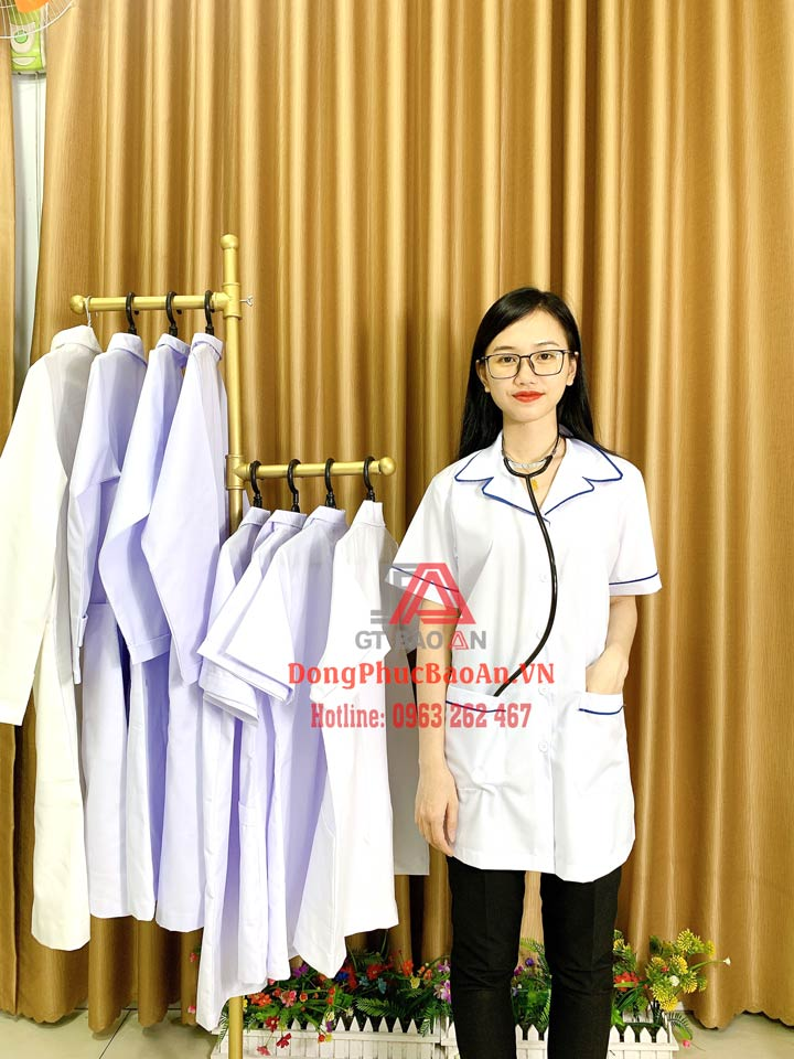 10+ Mẫu áo Blu đẹp nhất cho ngành Y, các kiểu áo blouse ngành Y thông dụng