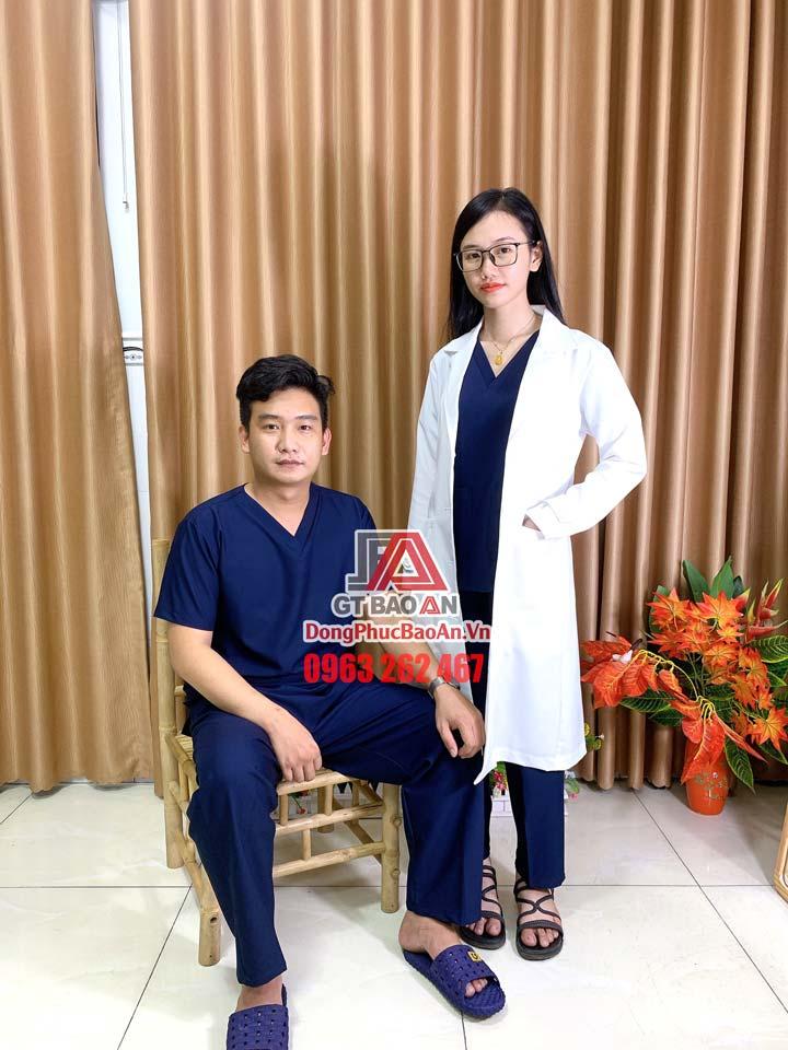 Đồng phục phòng mổ scrubs bác sĩ