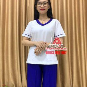 8+ Mẫu bộ Scrubs bác sĩ thông dụng nhất 2021 - Bộ quần áo Blouse bác sĩ nam nữ cho phòng khám, bệnh viện, thẩm mỹ viện