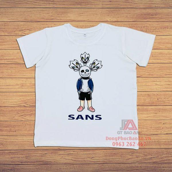 5+mẫu áo khoác bé Sans, áo thun bé Sans, nón kết bé Sans, trang phục bé Sans cho bé 4-11 tuổi