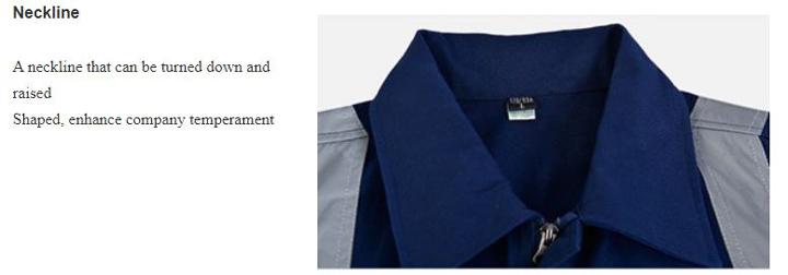 Quần áo bảo hộ liền quần cao cấp có phản quang mã ALQ02 - Quần áo bảo hộ công nhân, kỹ sư công trình màu Xanh Đen