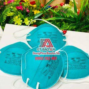 [Có Sẵn] Khẩu trang 3M 1860 N95 hàng nhập chính hãng – Khẩu trang chống dịch, lọc bụi, bảo vệ hô hấp