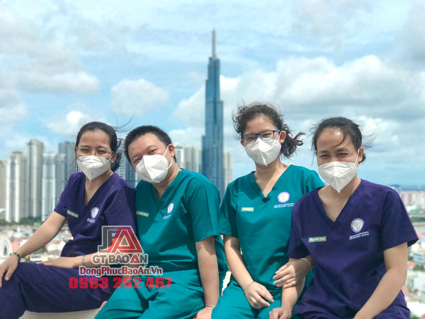 Công ty May Đồ Scrubs TPHCM GT Bảo An xây dựng kỷ niệm đẹp cho một lực lượng Bệnh viện Dã chiến Thu Dung