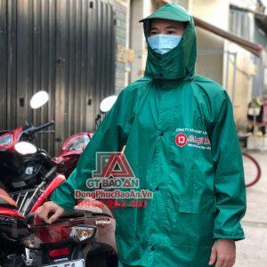 Xưởng sản xuất áo mưa TPHCM tốt nhất – Bộ quần áo mưa vải dù tổ ong cao cấp Lợi Dân