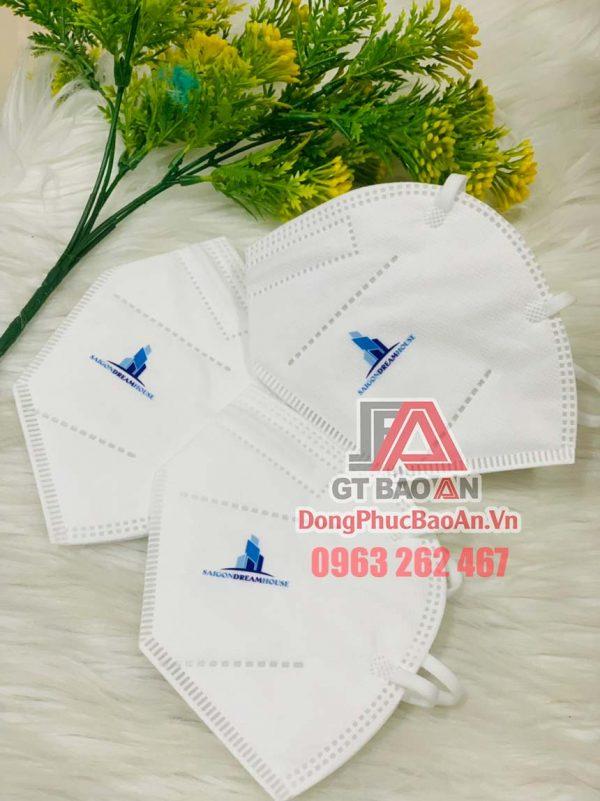 Nhận in logo lên khẩu trang y tế N95, BN95, KN95 - In khẩu trang theo yêu cầu TPHCM