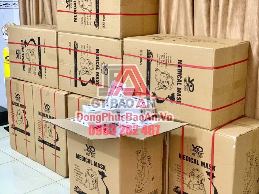 Khẩu trang Việt Đức FFP2 5 lớp chính hãng mẫu mới – Phân phối khẩu trang Việt Đức VN95 uy tín toàn quốc