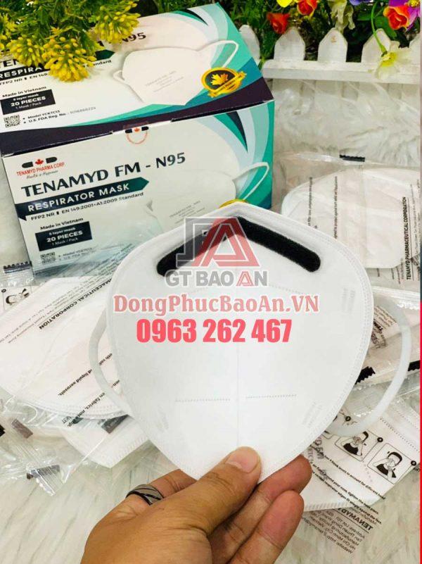 Khẩu trang TENAMYD N95: Mua khẩu trang y tế số lượng lớn ở đâu TPHCM?