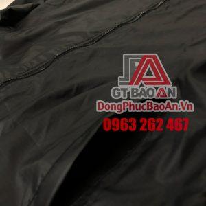 Đặt áo khoác in logo đồng phục công ty giá rẻ TPHCM - Mẫu áo khoác gió đồng phục GIGI