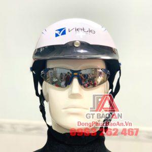Nhận đặt mũ bảo hiểm theo yêu cầu số lượng lớn tại TPHCM – Mũ bảo hiểm quảng cáo của Công ty Dược phẩm Vietle