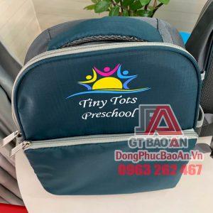 Xưởng may balo học sinh giá rẻ theo yêu cầu TPHCM - Mẫu balo mầm non Tiny Tots