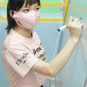 Đặt may áo thun đồng phục quảng cáo cổ tròn theo yêu cầu FPT SHOP.COM