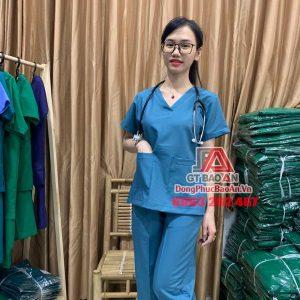 20+ bộ Scrubs Y khoa cao cấp cho bác sĩ, y tá điều dưỡng - Vải Cotton thun Hàn Quốc